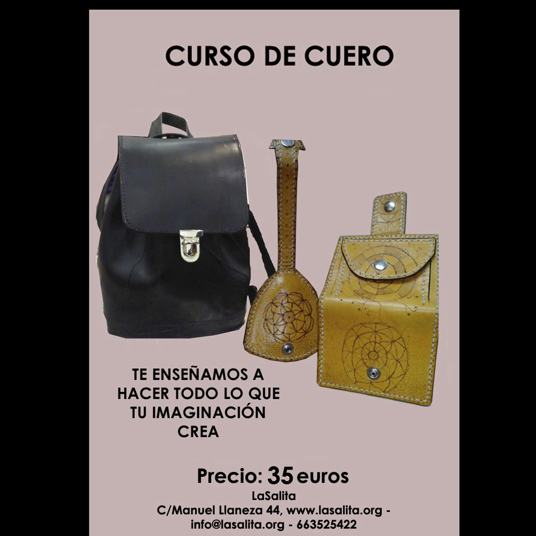 db07ea356 Curso de cuero y marroquinería   LaSalita Gijón