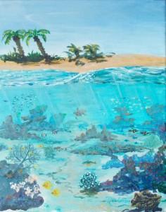 diego Bajo el Mar Caribe
