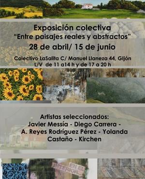 exposicion colectiva paisaje abstracto gijon lasalita