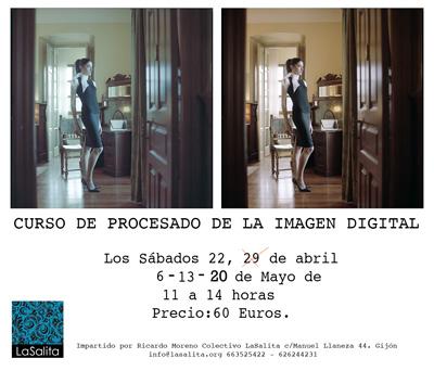 Curso procesado de fotografía digital en Gijón
