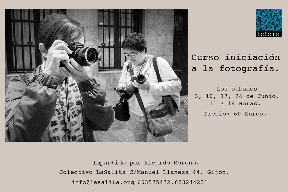 curso de iniciación a la fotografía en Gijón