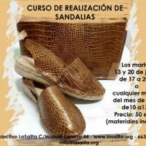 curso de sandalia Gijón