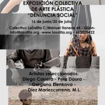 exposición denuncia social Gijón