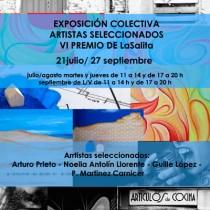 cartel inauguración premio LaSalita gijón