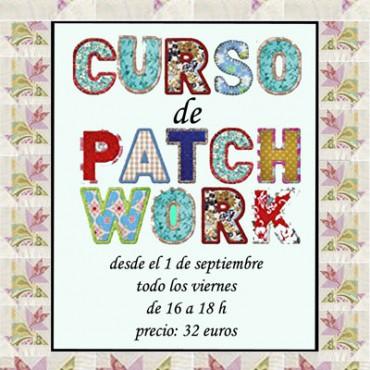 cartelcurso de patchwork gijón