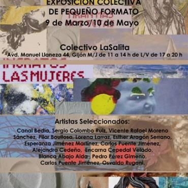 cartel-exposición-pequeño-formato-Gijón