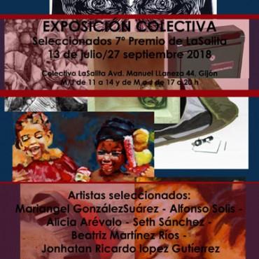 cartel exposición colectiva 7º premio