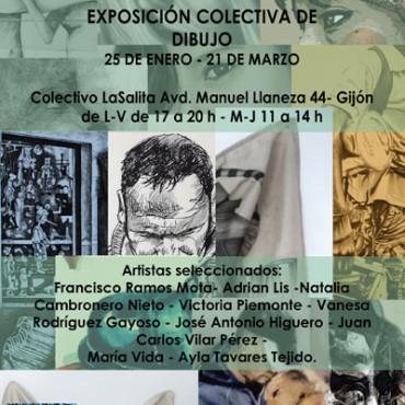 CARTEL-EXPO-DIBUJO-en-gijon